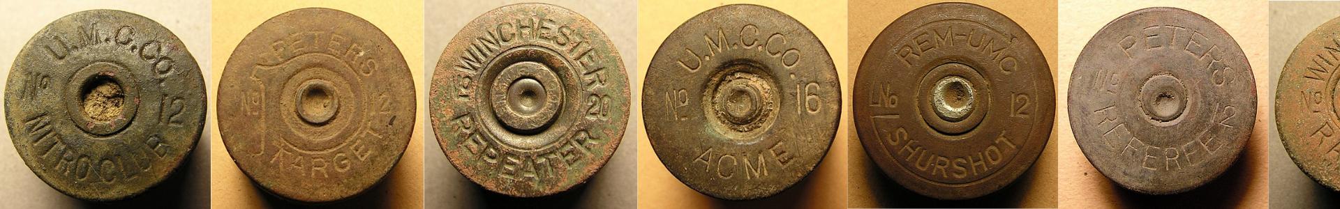 Shotgun shell headstamp identification